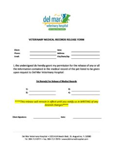 DMVH Medical Records Release Form
